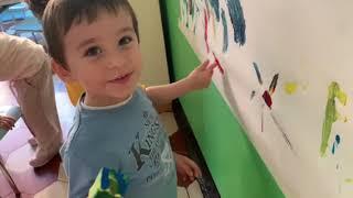 La pittura verticale