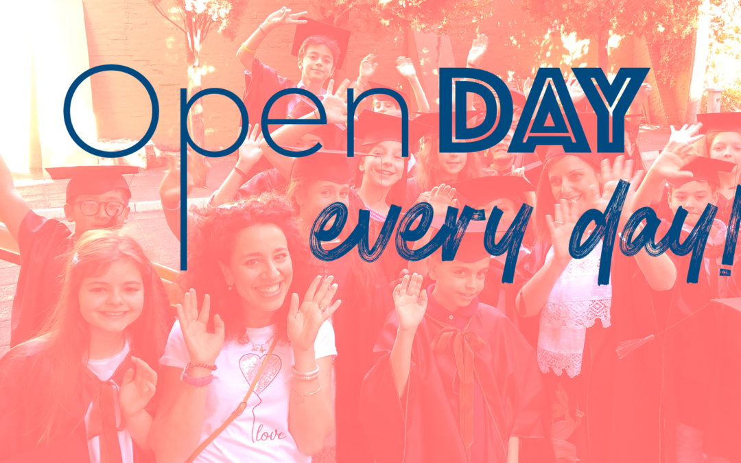 Open Day …every day! Prenota un appuntamento